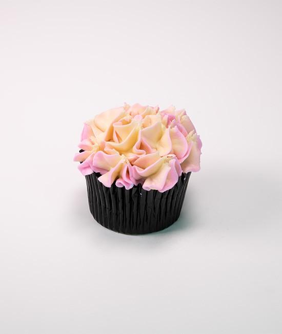 Hydrangea cupcake