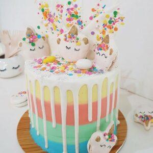 Unicorn daydreams cake