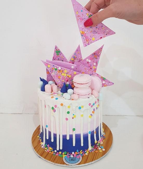 Confetti daydreamin' cake