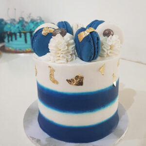 Nautical love cake