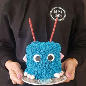 Monster girl cake