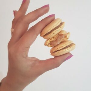Baklava macaron