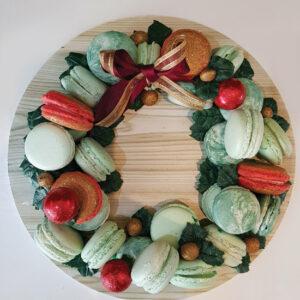 Macaron wreath