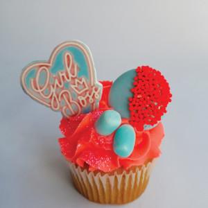 Girl Boss cupcake