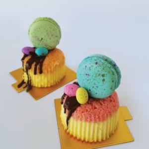Pastel mini cheesecake