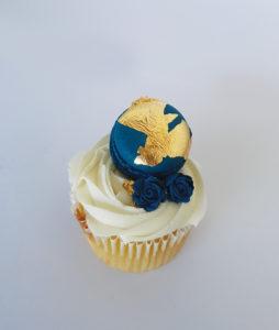 Eid macaron cupcake