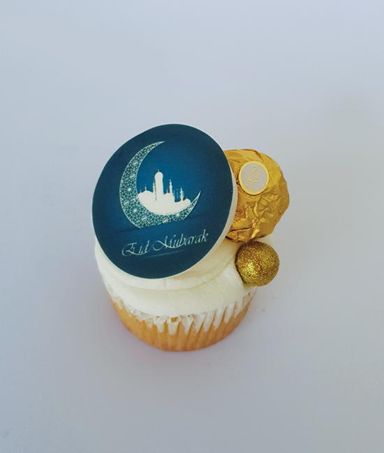 Classic Eid cupcake