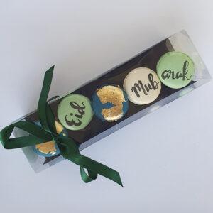 Eid assorted box of 5 macarons