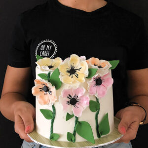 For the love of blossoms cake