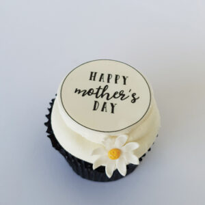 Daisy Mother's Day cupcake